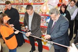 Откриване на реконструирания супермаркет в гр. Батак