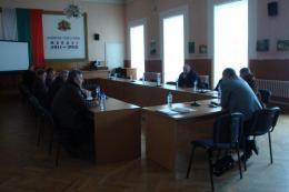 Работна среща - 16.02.2012г.
