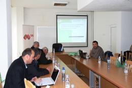 """работна среща в град Доспат на тема: """"Методи за намаляване на щетите от видри в сладководни рибовъдни стопанства"""""""