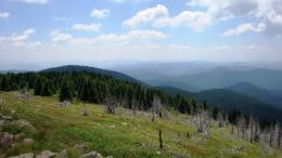 """""""Баташки снежник"""" с височина 2082м.Шестият по височина връх в Родопите."""